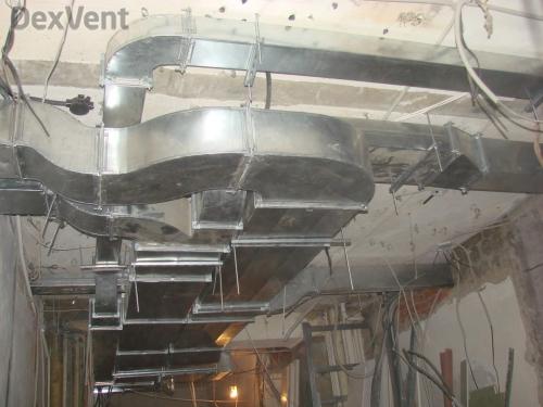 Канальные вентиляционные установки для промышленных объектов