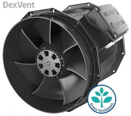 Вентилятор с двигателем EC