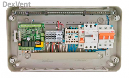 Элементы управления для автоматики приточных установок