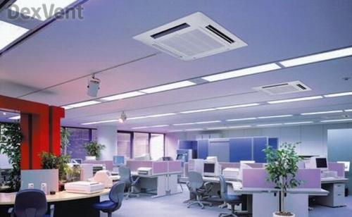 Канальные вентиляционные установки для офисных помещений