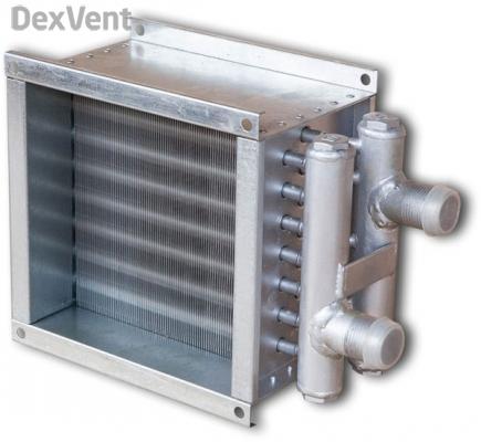 Водяной канальный нагреватель
