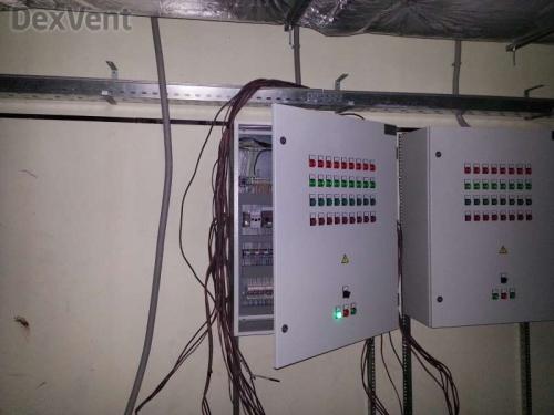 Шкафы управления для канальных приточных установок